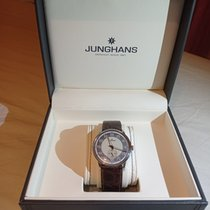 Junghans Meister Driver Steel 37.7mm Champagne Arabic numerals