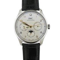 IWC Portuguese Perpetual Calendar nuevo 2020 Automático Reloj con estuche y documentos originales IW344203