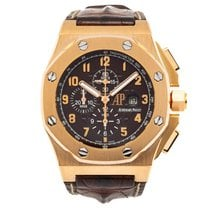 Audemars Piguet pre-owned Automatic 48mm Brown Sapphire crystal 10 ATM