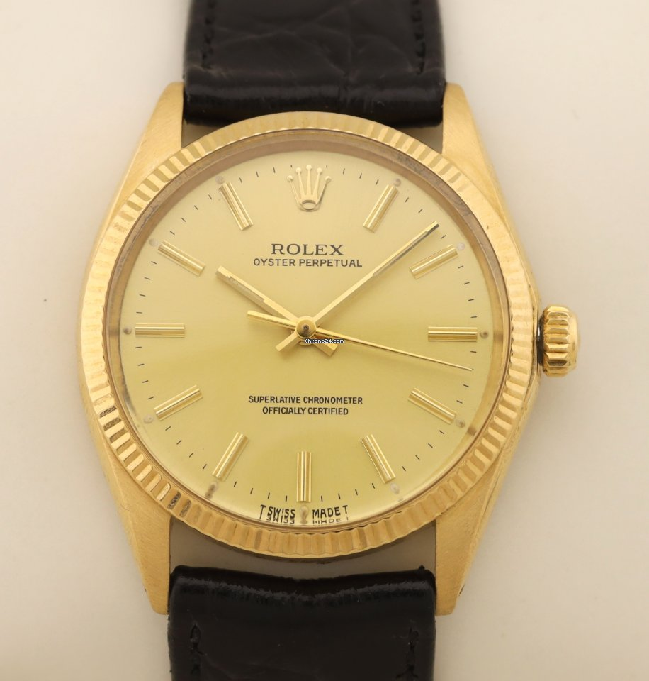 勞力士 Oyster Perpetual 34 1005 1981 二手