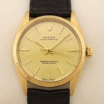Rolex Oyster Perpetual 34 usados 34mm Oro Piel