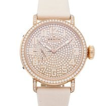 Zenith Rose gold Automatic Gold Arabic numerals 40mm new Pilot Type 20 Lady