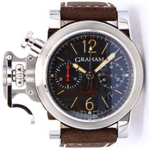 Graham Chronofighter R.A.C. new Automatic Chronograph Watch with original box and original papers 2CRBS.B10A
