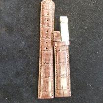 A. Lange & Söhne Parts/Accessories A. Lange Long brown alligator strap 20mm x 18mm new Brown