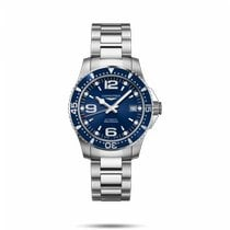 Longines L3.741.4.96.6 Steel HydroConquest 39mm new United States of America, New York, Bellmore