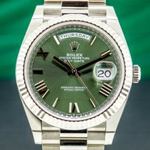 Rolex 228239 Or blanc 2020 Day-Date 40 40mm nouveau