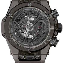 Hublot Big Bang Unico nieuw 2020 Chronograaf Horloge met originele doos en originele papieren 411.JB.4901.RT