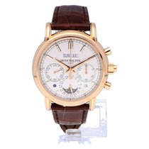 Patek Philippe Perpetual Calendar Chronograph 40mm Zilver Nederland, Amsterdam