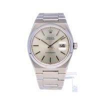 Rolex Datejust Oysterquartz tweedehands Zilver Datum Staal