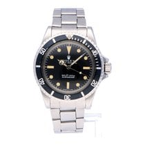 Rolex Negro Sin cifras usados Submariner (No Date)