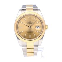 Rolex Datejust II 126333 Very good Gold/Steel 41mm Automatic
