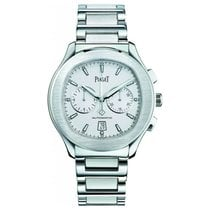 Piaget Polo S Steel 42mm Silver No numerals