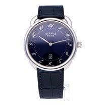 Hermès Arceau 40mm Niebieski Arabskie