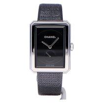 Chanel Boy-Friend Сталь 37mm Черный Без цифр