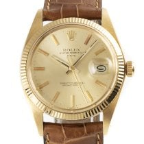 Rolex Oyster Perpetual Date Or jaune 34mm Or