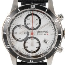 Eberhard & Co. new Automatic Quick Set 41mm Steel Sapphire crystal