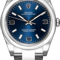 Rolex Oyster Perpetual 26 Steel 26mm Blue Arabic numerals United States of America, California, Moorpark