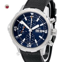 IWC Aquatimer Chronograph Steel 44mm Blue