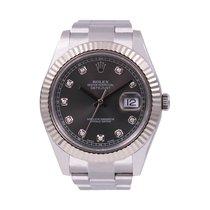 Rolex Datejust II Acier 41mm Gris Sans chiffres France, GRENOBLE