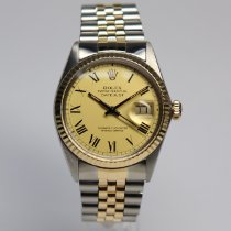 Rolex Datejust Gold/Steel 36mm Champagne Roman numerals UAE, Sharjah
