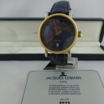 Jacques Lemans new Automatic 38mm Steel Mineral Glass