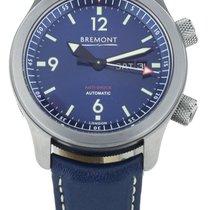 Bremont U-2 Steel 43mm Blue United States of America, Illinois, BUFFALO GROVE