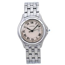 Cartier Cougar Steel 33mm Champagne Roman numerals United States of America, New York, New York