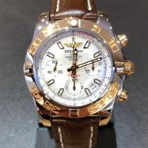 Breitling Chronomat 41 Acero y oro Madreperla