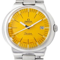Omega Genève Steel 41mm Yellow No numerals United States of America, Utah, Draper