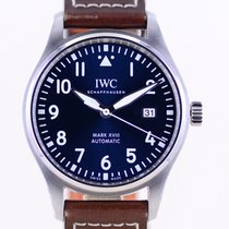 IWC Fliegeruhr Mark Stahl 40mm Blau Arabisch Deutschland, Langenfeld