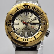 Seiko Steel 50.2mm Automatic SRPE14K pre-owned