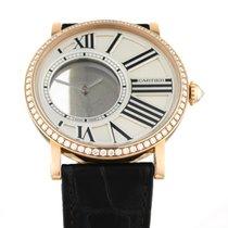 Cartier Rotgold Handaufzug 42mm gebraucht Rotonde de Cartier