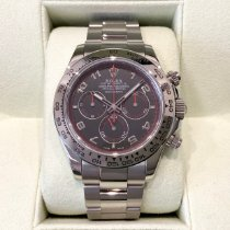 Rolex Daytona Or blanc 40mm Gris Arabes