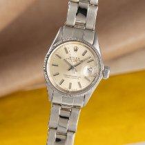Rolex gebraucht Automatik 24mm Silber Plexiglas