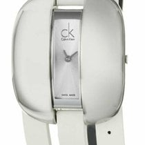 ck Calvin Klein Steel 35mm Quartz K2E23120 new United States of America, New York, Monsey