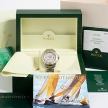 Rolex Yacht-Master 40 Steel 40mm Silver No numerals United Kingdom, Kent