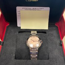 Cartier Ballon Bleu Сталь 33mm Розовый