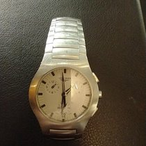 Longines Oposition Steel 38mm White No numerals
