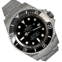 Rolex Sea-Dweller Deepsea Acciaio 44mm Nero Senza numeri Italia, Rimini