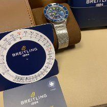 Breitling Superocean Heritage Steel 42mm Blue No numerals