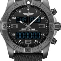 Breitling Exospace B55 Connected Titanium 46mm Zwart Arabisch