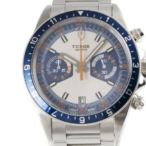 Tudor Heritage Chrono Blue Steel 42mm Champagne