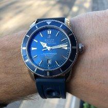 Breitling Superocean Heritage 46 Сталь 46mm Синий Без цифр Россия, Москва
