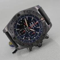 Breitling Chronomat 44 Blacksteel Steel 44mm Black No numerals