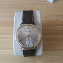 Seiko Yellow gold Automatic Silver No numerals 35mm pre-owned