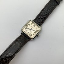 Hamilton White gold Manual winding Silver Arabic numerals 27.25mm pre-owned