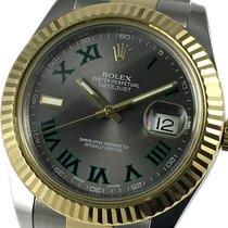 Rolex Datejust II Acero y oro 41mm Gris Romanos España, Barcelona