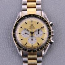 Omega Speedmaster Professional Moonwatch nuevo 1984 Cuerda manual Cronógrafo Reloj con estuche y documentos originales 145.0022