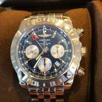 Breitling Chronomat 44 GMT Acero 44mm Azul Sin cifras