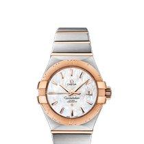 Omega Constellation Ladies neu 2020 Automatik Uhr mit Original-Box und Original-Papieren 123.20.31.20.05.001